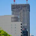 写真: 建設進む御園座の高層マンション(2017年4月18日) - 6