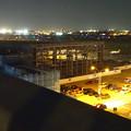 Photos: 県営名古屋空港:エアポートウォーク名古屋の駐車場横に建設中の…格納庫? - 1