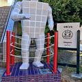 Photos: JR多治見駅南口の交番横にタイルマン! - 7