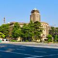 夕暮れ時の名古屋市役所 - 1