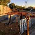写真: 朝宮公園横の新木津用水整備工事 - 6