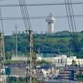 落合公園 水の塔から見た景色:スカイワードあさひ - 1
