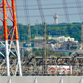 落合公園 水の塔から見た景色:スカイワードあさひ - 3