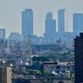 Photos: 落合公園 水の塔から見た景色:名駅ビル群 - 2