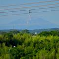 Photos: 落合公園 水の塔から見た景色:雪がほとんど消えてた、初夏の御嶽山 - 10
