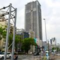 写真: 建設途中の御園座ビル(2017年6月10日) - 1