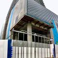 写真: 建設途中の御園座ビル(2017年6月10日) - 7