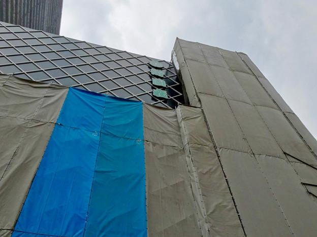 写真: 建設途中の御園座ビル(2017年6月10日) - 9