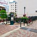 写真: 「シャムズガーデン」と名前付いてた、納屋橋の広場 - 1