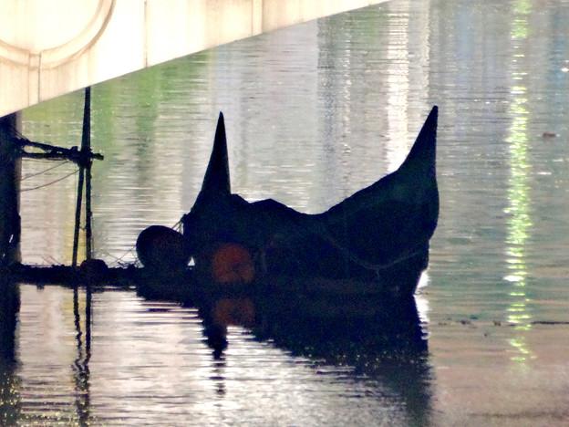 堀川:錦橋下に停留されてたゴンドラ - 3