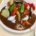 写真: まいどおおきに食堂:夏野菜たっぷりカレー - 1