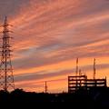 写真: 綺麗だった、今日夕方の筋雲 - 4