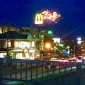 写真: 国道19号に架かる歩道橋の上から見た「春日井市民納涼まつり 2017」の花火 - 3