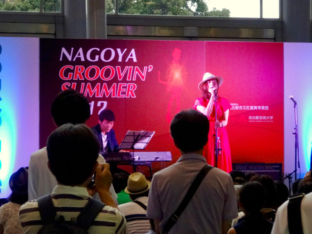 Nagoya Groovin' Summer 2017 No - 21:yukiさんと近藤有輝さん(ナディアパーク)