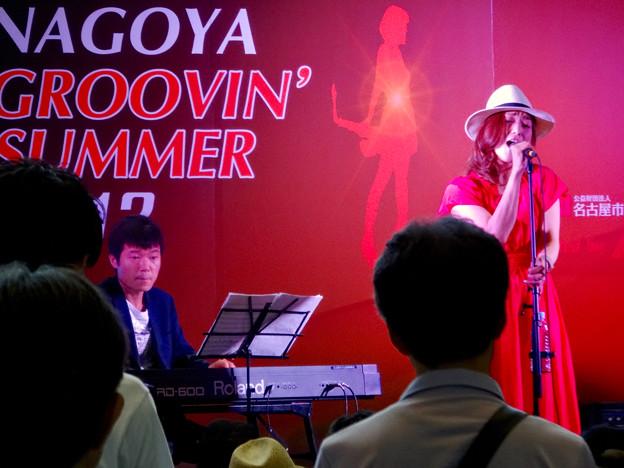 Nagoya Groovin' Summer 2017 No - 22:yukiさんと近藤有輝さん(ナディアパーク)
