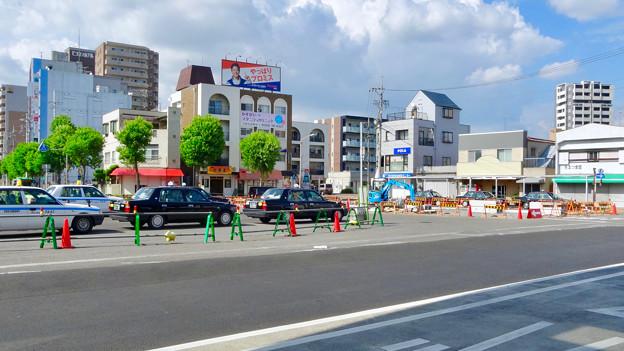 整備が進んでいたJR春日井駅北口前 - 2