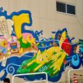 安城七夕まつり 2017 No - 74:新美南吉の壁面アート