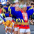 写真: 安城七夕まつり 2017 No - 137:アンフォーレ前で阿波踊り