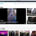 写真: Dailytmotion:ログインしたりアップロード画面表示するとたびたび表示されるお薦め動画紹介画面「For You」