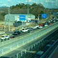 オープン4ヶ月後でも渋滞できてたIKEA長久手を向かう道路 - 2