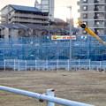 写真: 桃花台線の桃花台中央公園南側高架撤去工事(2018年2月11日) - 1