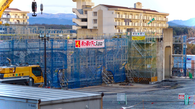 桃花台線の桃花台中央公園南側高架撤去工事(2018年2月11日) - 11