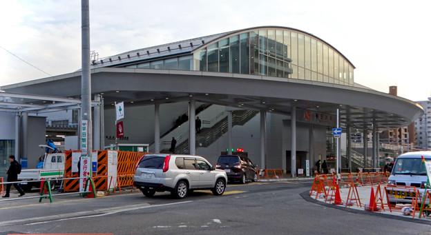 まだかなり工事してた、JR春日井駅北口前(2018年2月14日) - 5