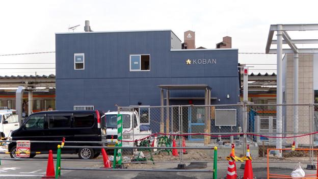 まだかなり工事してた、JR春日井駅北口前(2018年2月14日) - 7:建設途中の春日井駅前交番