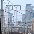 JR中央線の車内から見た名駅ビル群 - 4