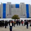 ポケモンGoのイベント「コミュニティデイ」開催でたくさんの人が集まっていた鶴舞公園(2018年2月24日) - 7:改修中の名古屋市公会堂前