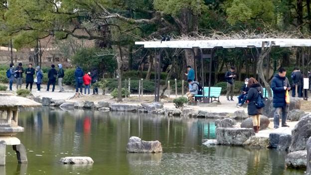 ポケモンGoのイベント「コミュニティデイ」開催でたくさんの人が集まっていた鶴舞公園(2018年2月24日) - 10