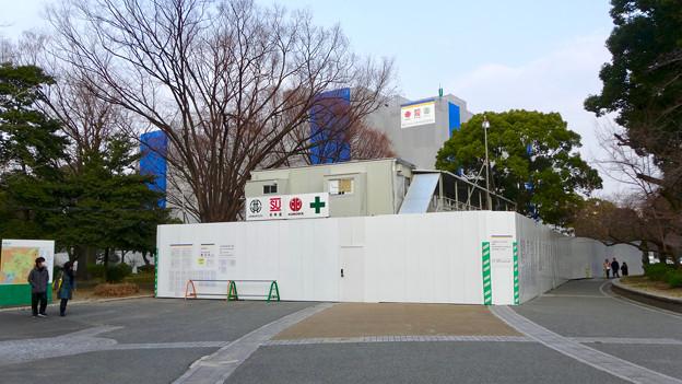 改修工事中の名古屋市公会堂(2018年2月24日) - 6
