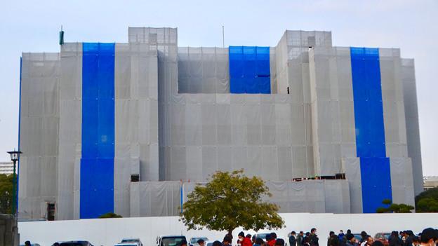 改修工事中の名古屋市公会堂(2018年2月24日) - 8
