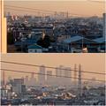 県営岩崎住宅(岩崎団地)から見た名駅ビル群 - 5