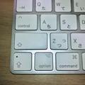 写真: Magic KeyboardのキートップにはCtrlやOptionにも記号