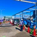 まだ周辺工事中のJR春日井駅 北口(2018年3月10日) - 20:アーケードを整備中?