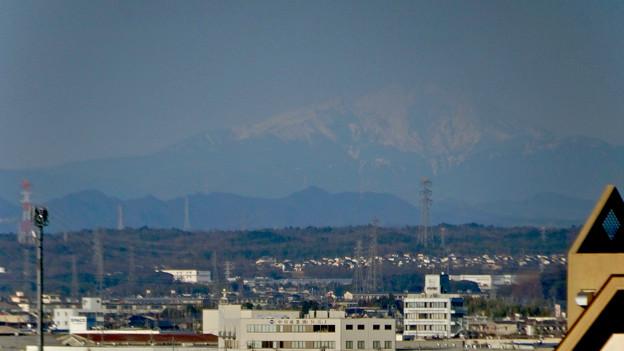 県営岩崎住宅から見た御嶽山(2018年3月12日) - 5