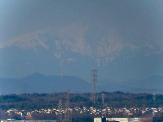 県営岩崎住宅から見た御嶽山(2018年3月12日) - 7