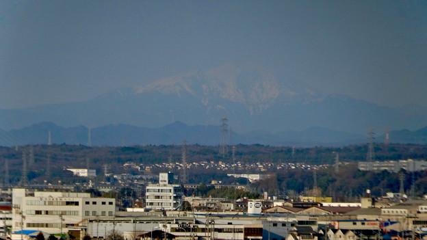 県営岩崎住宅から見た御嶽山(2018年3月12日) - 12