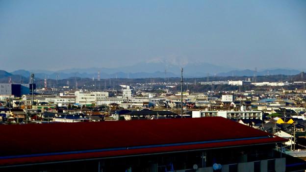 県営岩崎住宅から見た御嶽山(2018年3月12日) - 18