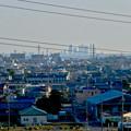県営岩崎住宅から見た名駅ビル群 - 1