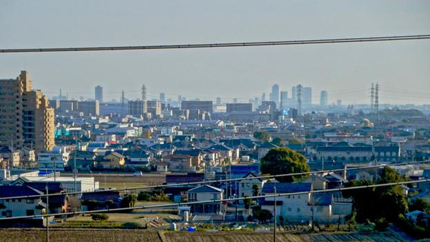 県営岩崎住宅から見た名駅ビル群 - 5