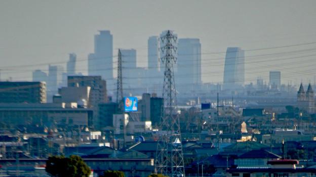 県営岩崎住宅から見た名駅ビル群 - 7