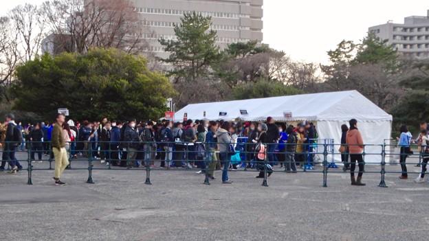 プロレス興行で沢山の人がいた愛知県体育館 - 2