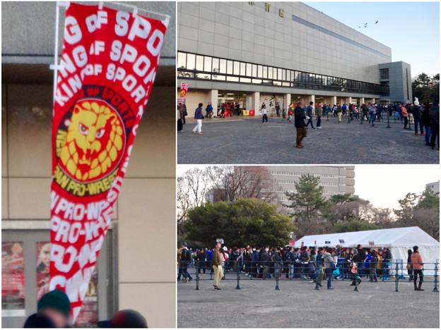 プロレス興行で沢山の人がいた愛知県体育館 - 6