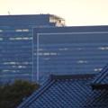 写真: 名古屋城正門近くから見上げた名駅ビル群 - 4