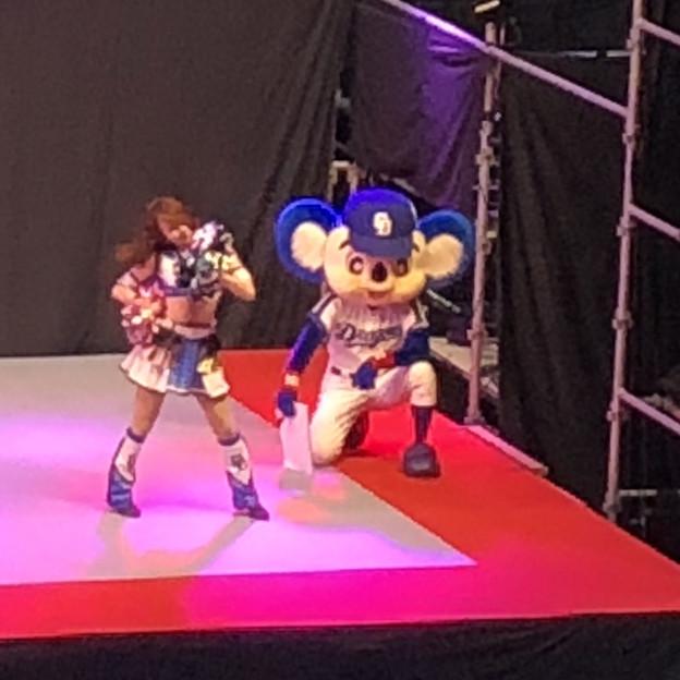 マラソン EXPO 2018 No - 14:ステージにドアラ