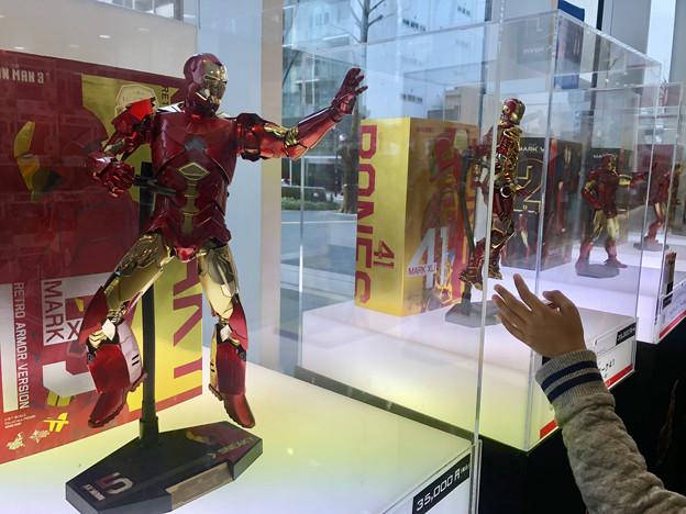 名古屋市科学館「マーベル展」 - 8:アイアンマンのフィギュア