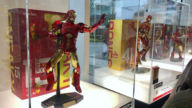 名古屋市科学館「マーベル展」 - 9:アイアンマンのフィギュア