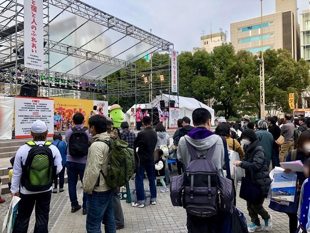 旅まつり名古屋 2018 No - 16:大勢の人で賑わう会場